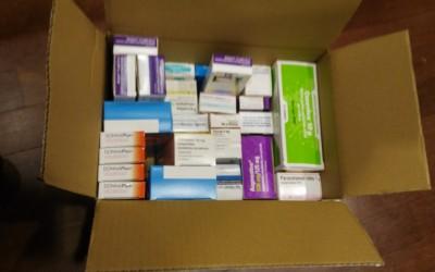 Donacion de medicamentos