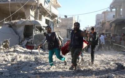 La ciudad de Alepo. El infierno en Siria.
